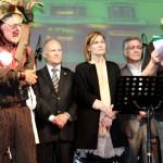 Pere Lorente, pregoner de la Festa Major d'enguany ha reivindicat la cultura popular santboiana // Maria Roda
