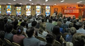 Instant de la celebració del 50 aniversari / Salesians
