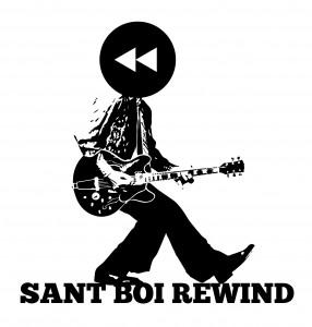 Logo del cicle de concerts 'Sant Boi Rewind' // Sant Boi Rewind