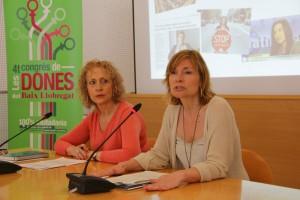 Les set alcaldesses del Baix Llobregat, entre elles la de Sant Boi, han participat a la presentació del Congrés // Consell Comarcal del Baix Llobregat