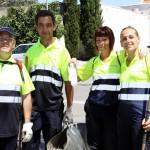 Un dels equips d'intervenció immediata format per persones que es trobaven a l'atur // Ajuntament de Sant Boi