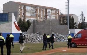 L'ensorrament mortal del túnel de bateig es va produir al gener del 2009 // Ajuntament de Sant Boi