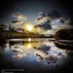 """""""Puesta de sol"""" és la fotografia guanyadora del concurs Primavera fotogràfica del Baix Llobregat // Jose Reyes Belzunce"""