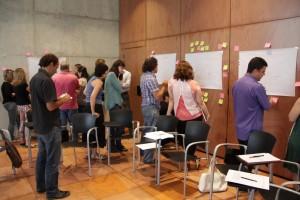 Representants d'ajuntaments, instituts i empreses implicades van definir al Citilab els reptes que hauran d'afrontar els alumnes // Consell Comarcal del Baix Llobregat
