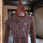 El resultado del taller de punto y costura por mujeres de diferentes países es uno de los resultados del Laboratorio de Arte Comunitario // Ajuntament de Sant Boi
