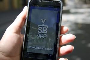 Imatge promocional de la nova aplicació SantBoiApp . // Ajuntament de Sant Boi