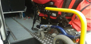 Cadira de rodes adaptada pels cotxes // Consell Comarcal