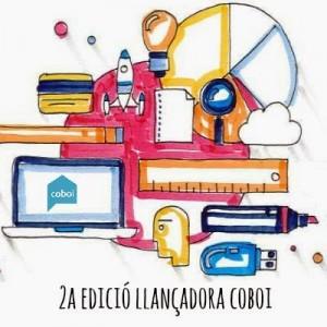 Cartell de la segona edició de la llançadora de projectes de Coboi. // Coboi