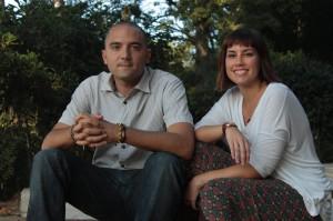 Josep Puigdengolas i Alba Martínez tenen l'experiència dels seus 4 últims anys com a regidors de l'Ajuntament. // ICV Sant Boi