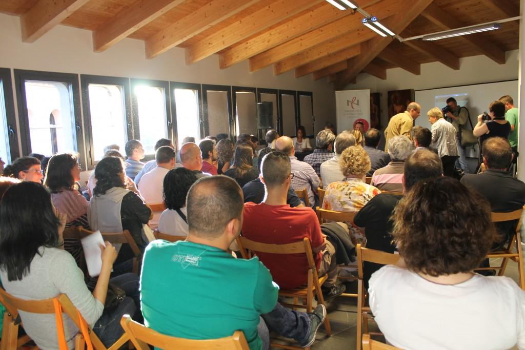 L'acte, celebrat al Museu de Sant Boi va aplegar a una setantena de persones. // Maria Roda
