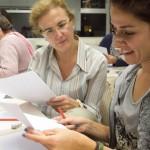 Estudiants de la UNED a L'Olivera // Ajuntament de Sant Boi