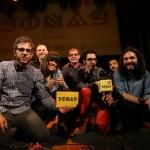 Els santboians Trau rebent el primer premi del concurs Sona 9 // Carles Rodríguez