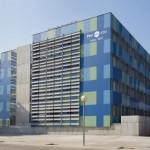 Edifici RDIT de la UPC al campus de Castelldefels, on s'ubica la incubadora de l'Agència Espacial Europea // UPC