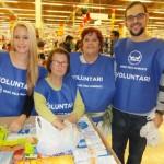 Voluntaris del Gran Recapte a l'Alcampo de Sant Boi // Ajuntament de Sant Boi
