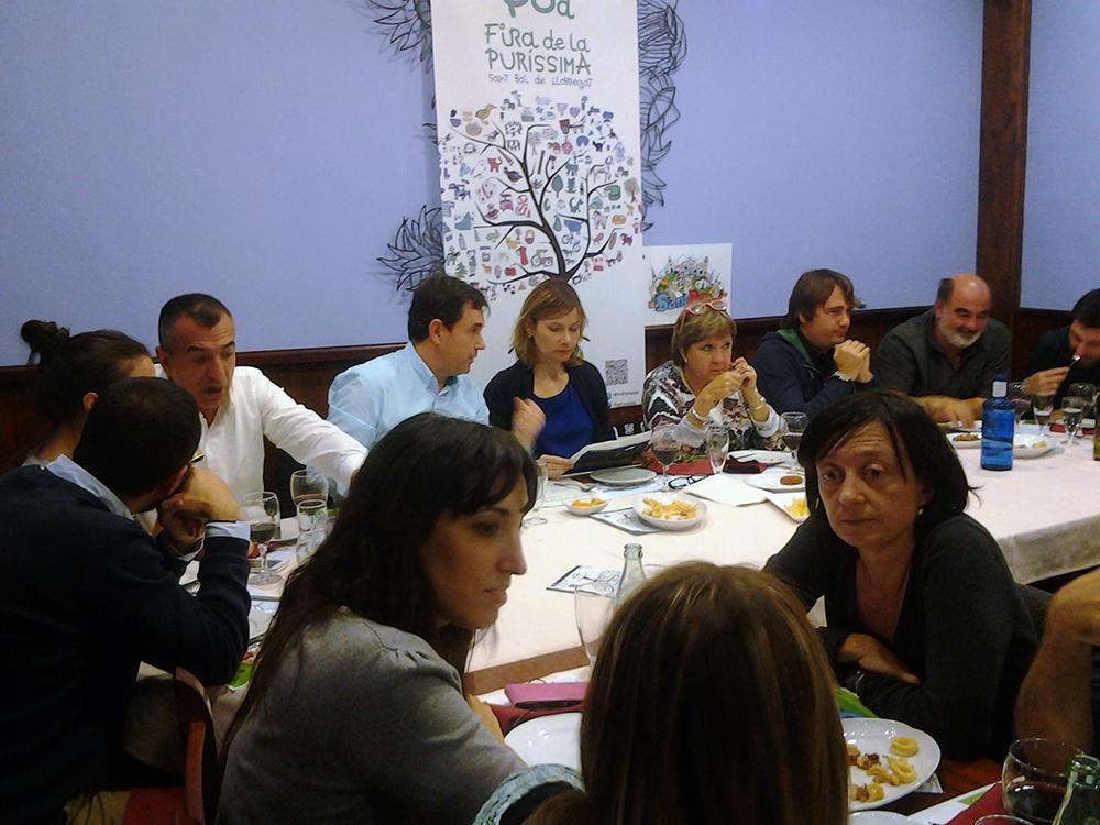 Imatge de la roda de premsa de presentació de la Fira // Ajuntament de Sant Boi