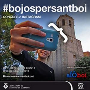 Cartell del primer concurs de selfies santboianes. // Ajuntament de Sant Boi