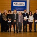 Representants dels projectes guanyadors dels ajuts de la Fundació Ordesa a la seu de l'empresa // Ajuntament de Sant Boi