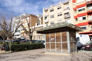 Un dels espais buits és el quiosc de la plaça de la Generalitat // Ajuntament de Sant Boi