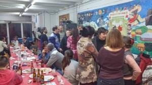 Imatge del Sopar Solidari per les Marxes per la Dignitat // Sant Boi en lluita