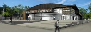 Recreació del nou Mercat Centre-Muntanyeta // Ajuntament de Sant Boi