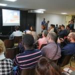 Los jóvenes participantes en la segunda edición de la lanzadera se reunieron en un acto final en el casal de Casablanca // Ajuntament de Sant Boi