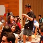 Els joves es van mostrar molt participatius a la cloenda de la primera fase del projecte a Can Massallera // Ajuntament de Sant Boi
