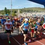 Moment de la sortida de la 30a Cursa popular Vila de Sant Boi // Ajuntament de Sant Boi