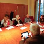 Reunió de la comissió de cohesió social del Consell de Ciutat a l'Ajuntament // Ajuntament de Sant Boi