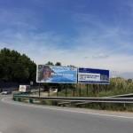 Imagen de la pancarta del PP que después fue retirada // ICV Sant Boi