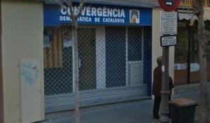 Seu de Convergència Democràtica de Catalunya a Sant Boi // Google Maps
