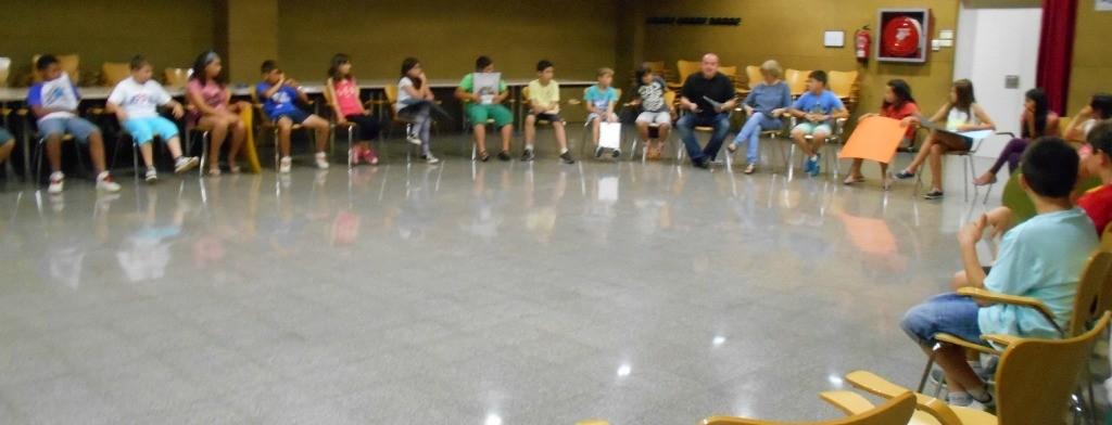 La primera sessió plenària es va celebrar a L'Olivera // Ajuntament de Sant Boi