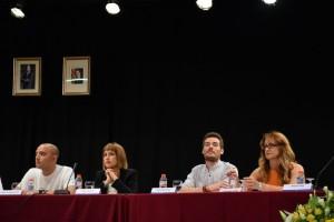 Els cinc regidors d'ICV // Maria Rubio