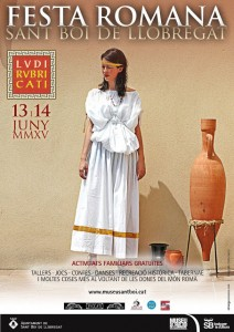 El cartell de la festa romana \\ Elisenda Colell