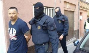 El líder de la banda detingut a Santa Coloma de Gramenet // SER Catalunya
