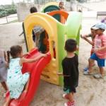 L'escola Antoni Tàpies acull el casal d'estiu durant el mes d'agost // Ajuntament de Sant Boi