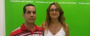 Álex Pérez i Ció Lerma // ICV Sant Boi