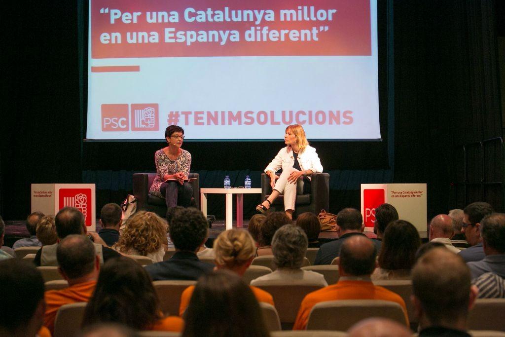 El PSC ha celebrat el seu primer acte de campanya comarcal a Cal Ninyo // PSC Baix Llobregat