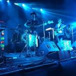 Sidonie durant la seva actuació a la plaça de l'Ajuntament // Festival Altaveu