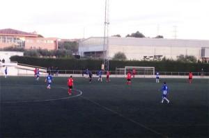 Imatge del partit a Torredembarra // FC Santboià