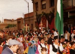 La Cruz de Mayo en los 80 // Casa de Sevilla