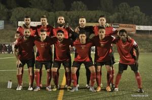 Onze del Santboià contra el Lleida B // FC Santboià