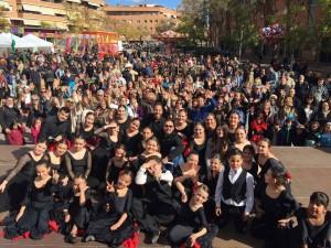 Imagen de la celebración del Día de Andalucía // Casa de Sevilla