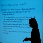 Un moment de la jornada sobre TDAH i superdotació organitzat al casal l'Olivera // Marc Pidelaserra