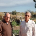 Reinaldo Guerra i Manuel García Pedrosa, dos dels veïns afectats pel PDU // Marc Pidelaserra