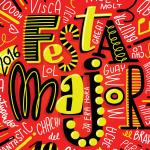 Detall del cartell de la festa major // Ajuntament de Sant Boi