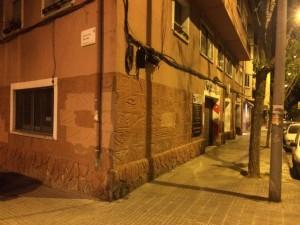 El suceso ha tenido lugar en el número 59 de la calle Onze de Setembre // David Guerrero