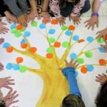 L'arbre de les emocions és un element imprescindible de la teràpia // Complex Assistencial Benito Menni