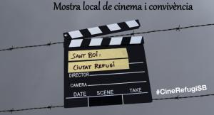 Detall del cartell de la 1a Mostra Local de Cinema i Convivència //Ajuntament de Sant Boi