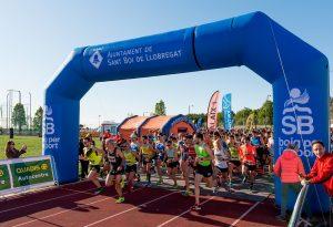 La sortida de la 31a Cursa Popular // Ajuntament de Sant Boi de Llobregat