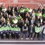Les 47 persones contractades en el pla d'ocupació // Ajuntament de Sant Boi